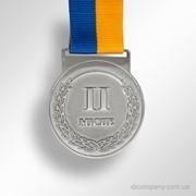 Медаль DIC-0750 аверс II место фото
