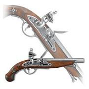 Пистоль французских пиратов, 18 век фото