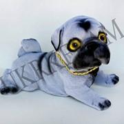Копилка щенок мопса № 2470 фото