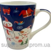 Чашка новогодняя Снеговик JZ1415ABCD фото