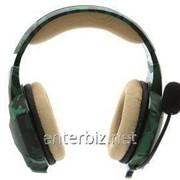 Гарнитура Trust GXT 322C Gaming Headset Green Camouflage (20865) фото