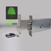 Врезной биометрический замок невидимка Титан-Battery Internal Biometric с врезным блоком управления фото