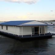 Дом на воде, дома плавучие фото
