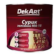 Сурик железный МА-15 DekART фото