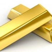 Золото слитки фото