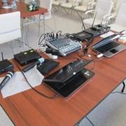 Аренда звука (микрофонов, акустики, микшера) фото