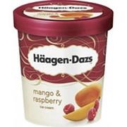 Пломбир HAAGEN-DAZS манго и малина, 430г фото