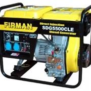 Электростанции портативные дизельные FIRMAN SDG5500TCLE фото
