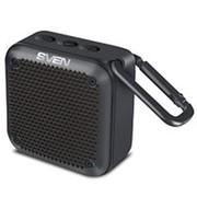 Колонка портативная Sven PS-88, 7 Вт, bluetooth, FM, USB, micro USB,влагозащищённая IP7 .чёрная фото