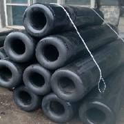 Труба отбойная резиновая для причалов Арктика 300х150х3000 фото