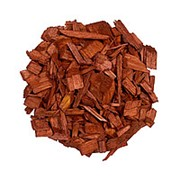 Декоративная щепа 60л коричневая фото