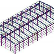 Проектирование металлоконструкций для строительства зданий, изготовление строительных металлоконструкций фото