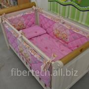 Бортик защитный для детской кроватки фото