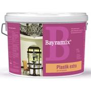 Водоэмульсионная акриловая краска для обоев Plastic Extra - 9 л, цвет Белая. фото