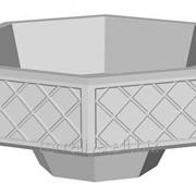 Вазон из бетона В-1 фото