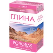 Глина розовая косметическая 100 гр фото