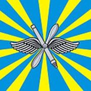 Флаг 90х135 ВВС РФ фото