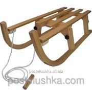 Зимние санки Alpen Wooden Foldable Sled 110 фото