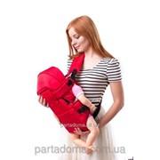 Слинг №8, с капюшоном, красный фото