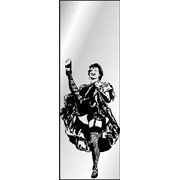 Обработка пескоструйная на 1 стекло артикул 6-01 фото