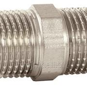 Ниппель 1/2 дюйм НН усиленный никель AS Gruppe, арт.15948 фото
