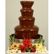Установка шоколадных фонтанов, Шоколадный фонтан фото