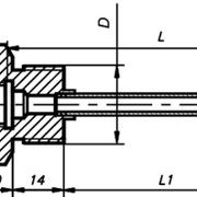 Гильза защитная ГЗ-6,3-4 фото