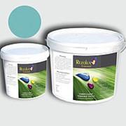 Резиновая краска Rezolux Universal /14 кг/ лазурь 6027 фото