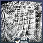 Сетка тканая низкоуглеродистая 1.2x1.2x0.32 12Х18Н9Т ГОСТ 3826-82 фото