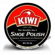 Крем для обуви KIWI черный, 50мл фото