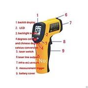 Инфракрасный термометр пирометр GM320 фото