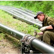 Монтаж трубопровода фото