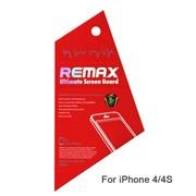 Защитная пленка на Айфон 4/4s Remax глянцевая (на обе стороны) фото
