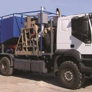 Установка насосная передвижная с баком и смесителем УНБС2-600х70 фото