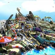Поездка в аквапарк YAS WATER WORLD или Феррари Парка Ferrari World Abu Dhabi, на выбор - Экскурсия за дополнительную плату фото