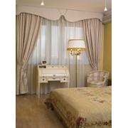 Пошив штор. Комплект тюль + портьера + ламбрекен (карниз до 3 м) фото