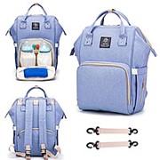 Сумка рюкзак для мамы с USB фото