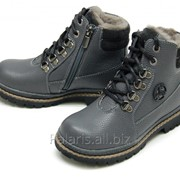 Ботинки зимние серые, арт. 2103-264216 фото