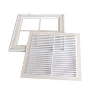Решетка вентиляционная пластиковая РВ 355х355 фото
