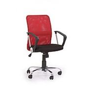 Кресло компьютерное Halmar TONY (черно-красный) фото