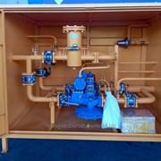 Пункт газорегуляторный шкафной ГРПШ-13-2ВУ1-ЭК с узлом учета газа фото
