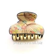 Заколка-краб Весенние цветы фото