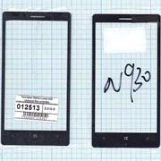 Стекло для Nokia Lumia 930 черный без шлейфа, Диагональ 5, 1080x1920 фото