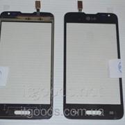Тачскрин оригинальный / сенсор (сенсорное стекло) для LG Optimus L65 D280 (черный цвет) 3450 фото