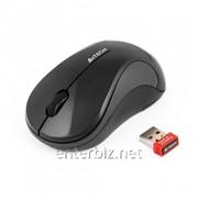 Мышь беспроводная A4Tech G3-270N-1 черная USB V-Track, код 116162 фото