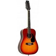 Гитара 12-струнная Martinez FAW-802-12 / TBS фото