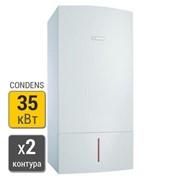 Конденсационный газовый котел Bosch Condens 7000 ZWBR 35-3 A (2 контурн.) фото