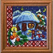 Вышивка крестиком 1304 Рождественская ночь фото