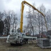 Услуги бетононасоса Бетононасос HOWO 2009 г./в. Одна единица Киев Киевская область фото