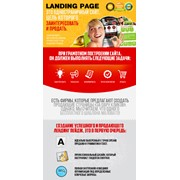 Создание посадочной страницы Landing page фото
